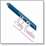 9865 - Veins Pencil Turquoise