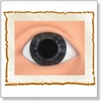 7507 - Eyes :  HQ acryl ogen Midnight Blue