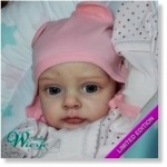 AW300215 - Dollkit 21  - Chloe - will be ship from 10-8 - UITVERKOCHT
