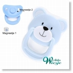 792026 - Accessories : Reborn Pacifier Blue - Bear