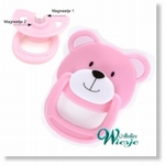 792026 - Accessories : Reborn Pacifier Pink - Bear