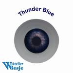 630200 - Eyes : Polyglass ogen Thunder Blue