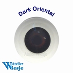 630500 - Eyes : Polyglass ogen  Dark Oriental