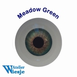 630700 - Eyes : Polyglass ogen  Meadow Green