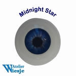 630800 - Eyes : Polyglass ogen  Midnight Star