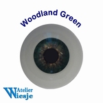 631000 - Eyes : Polyglass ogen  Woodland Green