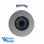 630900 - Eyes : Polyglass ogen  Stormy