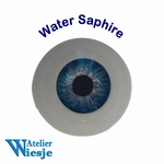 631400 - Eyes : Polyglass ogen  Water Saphire