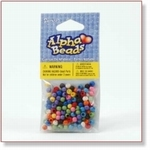 7704 - Accessories : Multi-Colored Round Beads